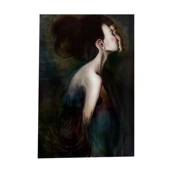 Autorský plakát od Lény Brauner Slečna Rakatamizau v barvě, 60x84 cm
