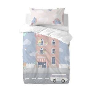 Dětské povlečení z čisté bavlny Happynois Neighborhood, 100 x 120 cm