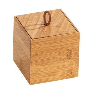 Bambusový box svíkem Wenko Terra, šířka9cm