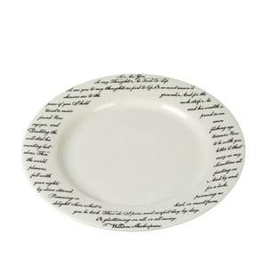 Porcelánový talíř Shakespeare, 27 cm