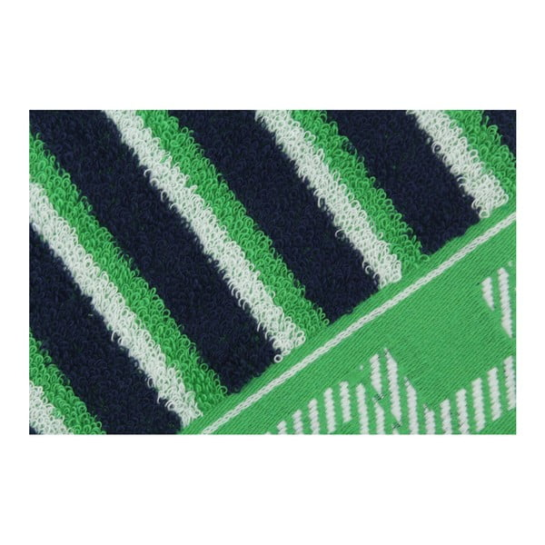 Modro-zelený ručník Beverly Hills Polo Club Lawson, 50x100cm