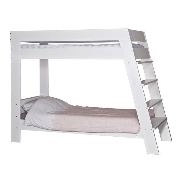 Dvoupatrová postel Julien, bílá