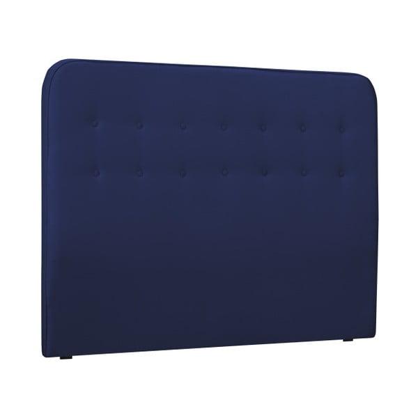 Modré čelo postele HARPER MAISON Lena, 160 x 120 cm