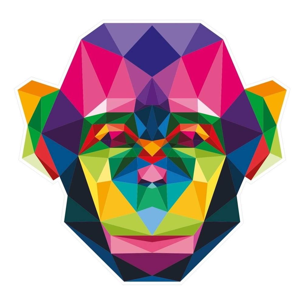 Nástěnná samolepka s geometrickým provedením Ape