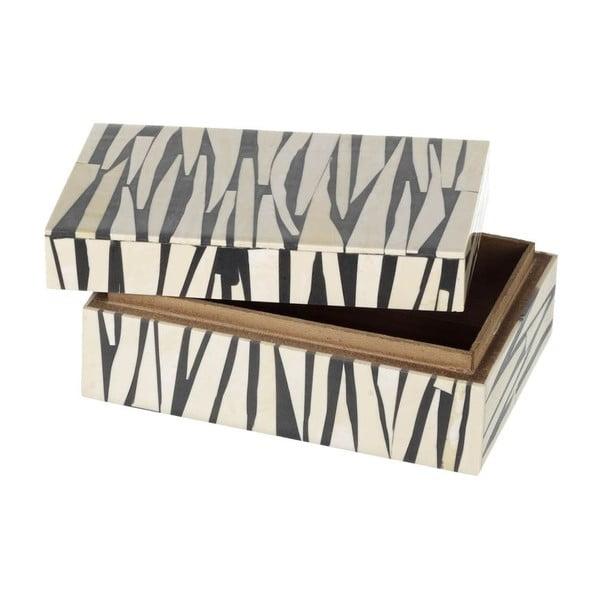 Box Zebra Black/Ivory