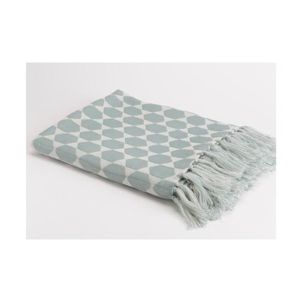 Pléd Blue Grey, 130x170 cm