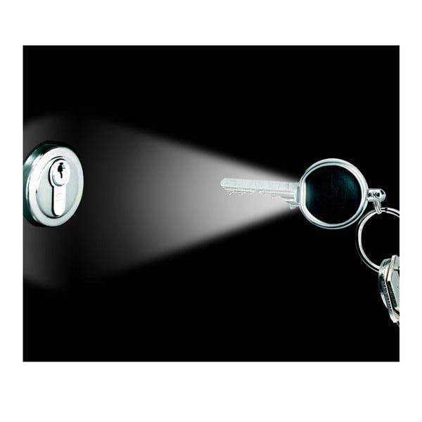 Klíčenka s LED žárovkou