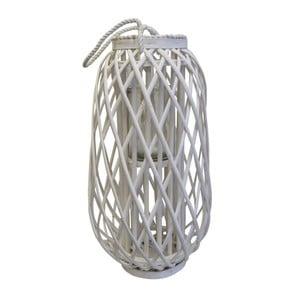 Bílá lucerna Stardeco, 65 cm