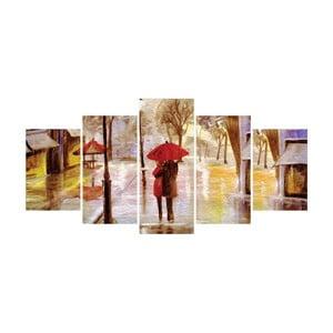 Vícedílný obraz La Maison Des Couleurs Rainy Day