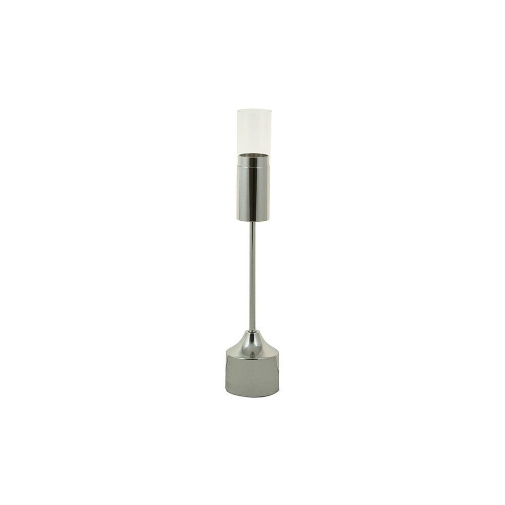 Svícen stříbrné barvy Santiago Pons Luxy, výška44cm