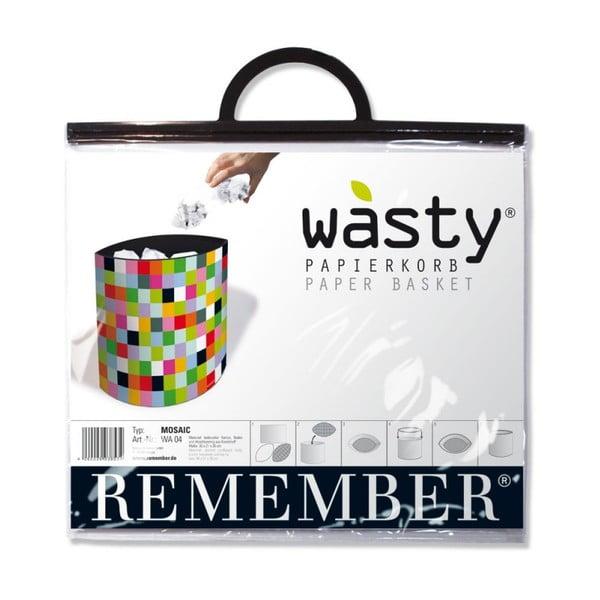 Koš na papír Remember Mosaic
