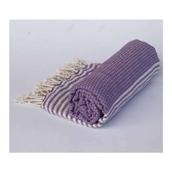 Peshtamal Stripy Lilac, 100x180 cm