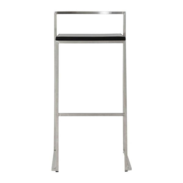 Barová židle s černým sedákem Kokoon Meto, výškasedu74cm