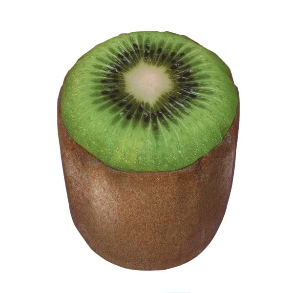 Dmuchany puf w kształcie kiwi Sunvibes