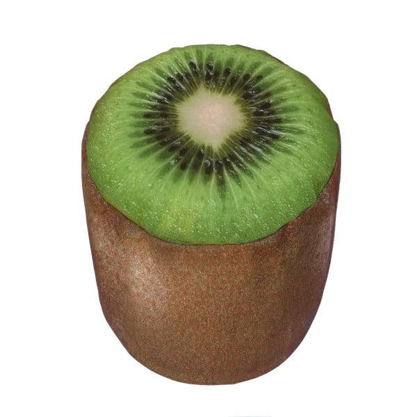 Nafukovací puf ve tvaru kiwi Sunvibes