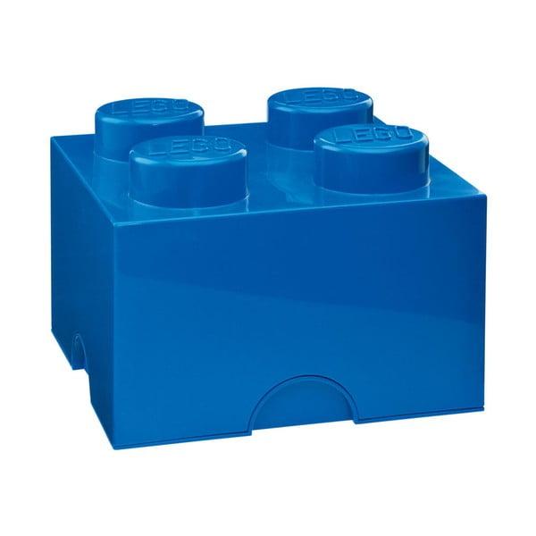 Kék szögletes tárolódoboz - LEGO®