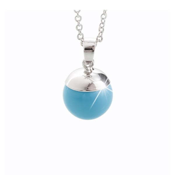 Náhrdelník s krystaly Swarovski® Yasmine Caja Aqua
