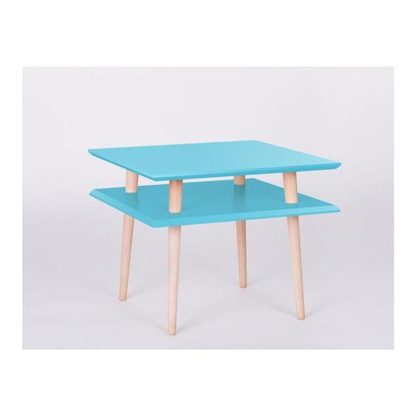 Konferenční stolek UFO Square Dark Turquoise, 55 cm (šířka) a 45 cm (výška)