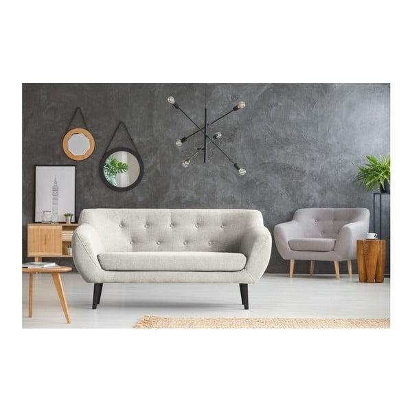 Canapea cu 2 locuri Mazzini Sofas Piemont, crem