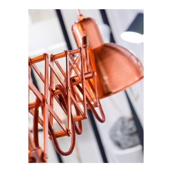 Nástěnná lampa v měděné barvě Citylights Aberdeen