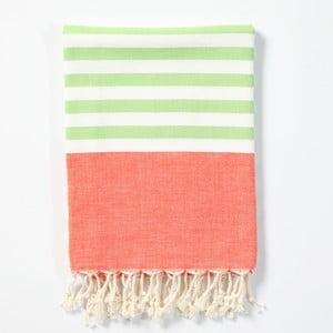 Hamam osuška z ručně tkané bavlny ZFK Dagfrid, 170x100cm