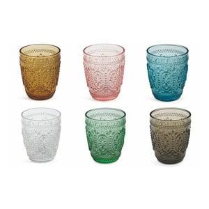Sada 6 barevných sklenic Villa d'Este Imperial Bicchieri