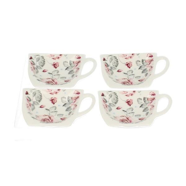 Sada 4 stojánků na čajové sáčky Duo Gift Růžička