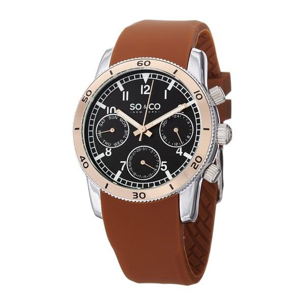 Pánské hodinky Yacht Brown