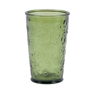 Zelená sklenice EgoDekorFlora, 300ml