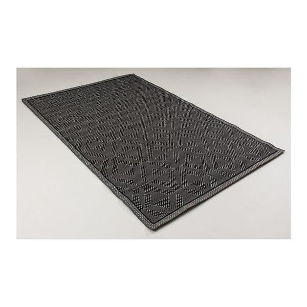 Černý koberec vhodný do exteriéru Casa Natural Antea, 230 x 150 cm