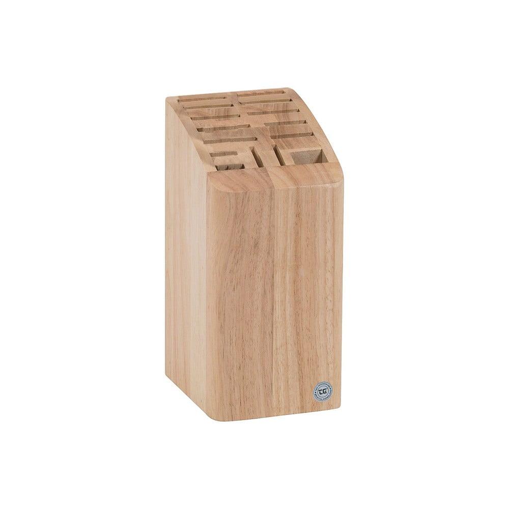 Blok na 12 nožů, sekáček a nůžky T&G Woodware Steel