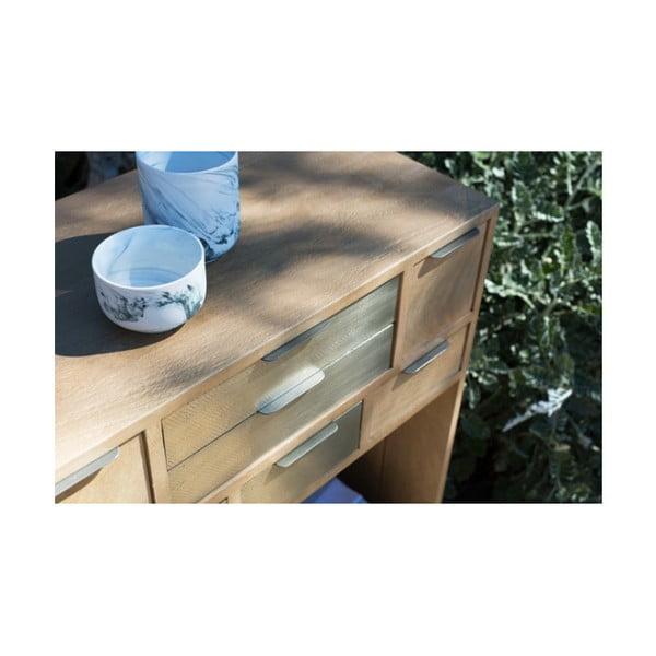 Konzolový stolek z masivního mangového dřeva Woodjam Pasadena, šířka 98 cm