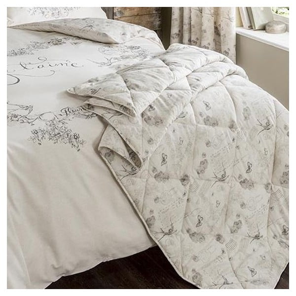 Přehoz přes postel Je t´aime Multi, 220x230 cm