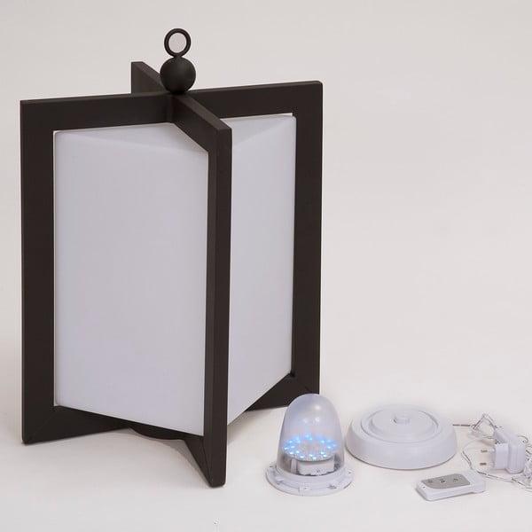 LED lucerna Ricaricabile Mahagony, 56 cm