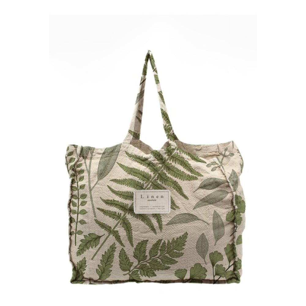 Látková taška Linen Couture Botanical, šířka 50 cm