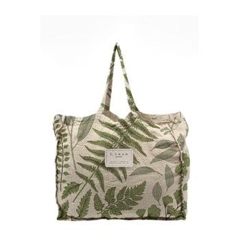 Geantă textilă Linen Botanical, lățime 50 cm imagine