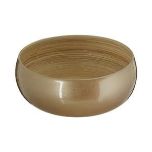 Bambusová miska ve zlaté barvě Premier Housewares, ⌀ 25 cm