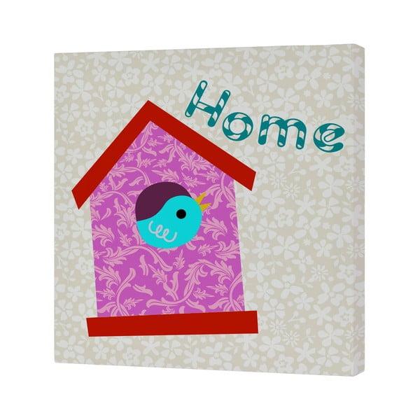 Nástěnný obrázek Baleno Sweet Home Pink, 27x27 cm
