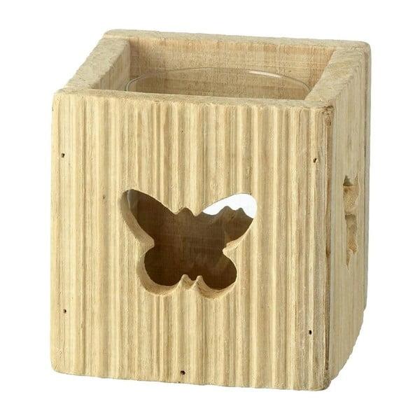 Stojan na svíčku Butterfly, 11 cm