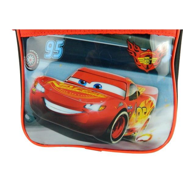 Červeno-černá dětská taška přes rameno Bagtrotter Cars