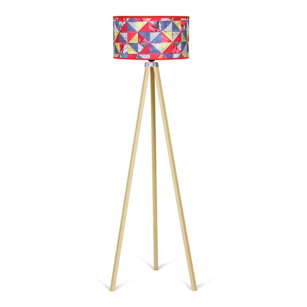 Stojací lampa Kate Louise Naturel Patchwork