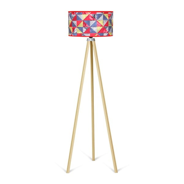 Lampadar Kate Louise Naturel Patchwork