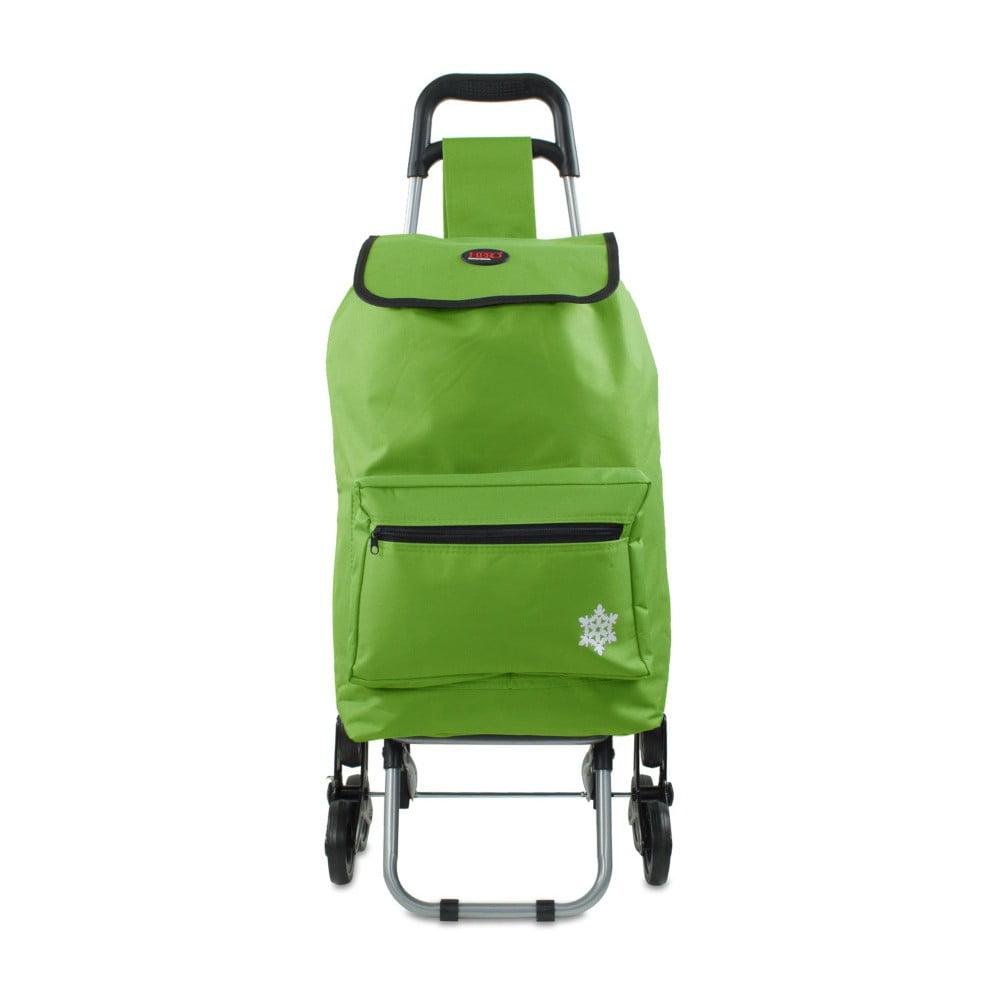 Zelená nákupní taška na kolečkách Hero Atlas, 30 l