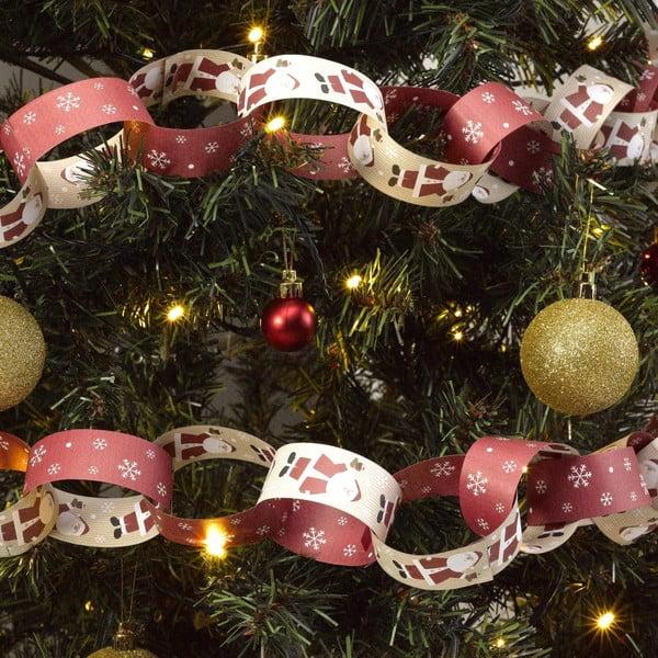 Vánoční papírový řetěz Neviti Let It Snow