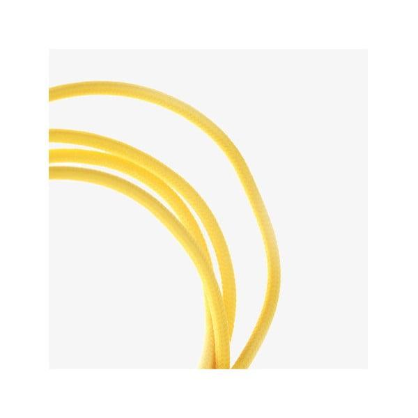 Micro-USB kabel, žlutý