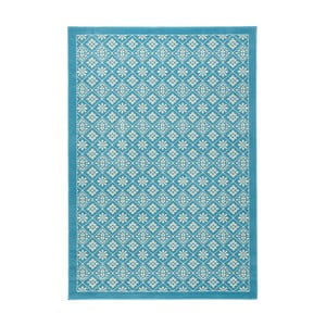 Světle modrý běhoun Hanse Home Gloria Tile, 80x300cm