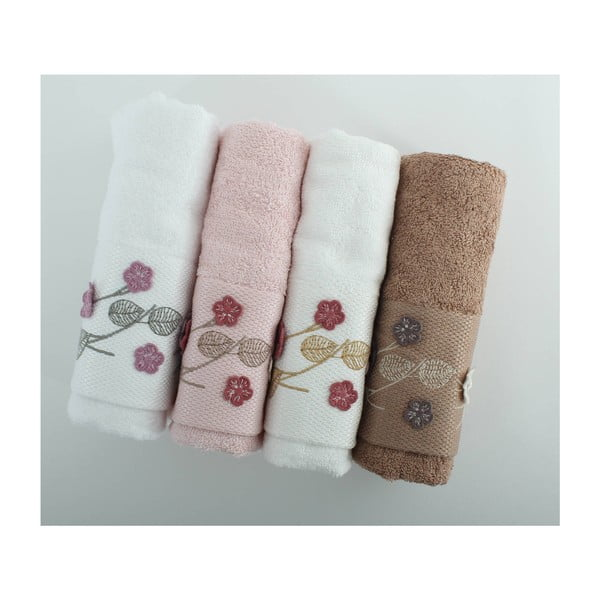 Sada 4 ručníků Beyra Cice, 50x90 cm