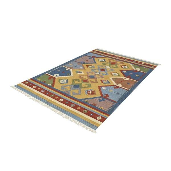 Vlněný koberec Kilim Classic K05 Mix, 155x215 cm