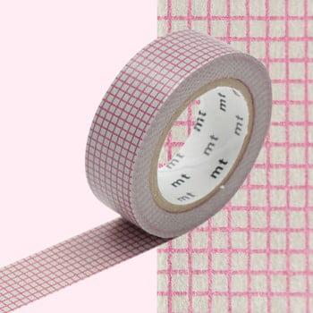 Bandă decorativă Washi MT Masking Tape Roberte, rolă 10 m de la MT Masking Tape