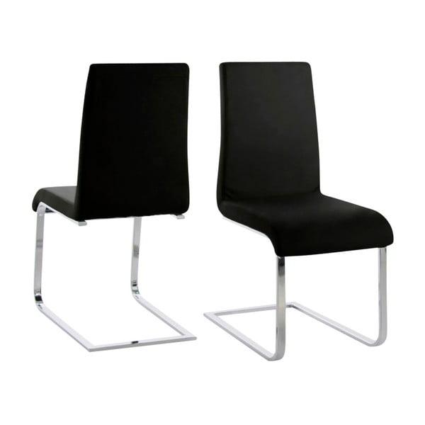 Černá jídelní židle Actona Maddox